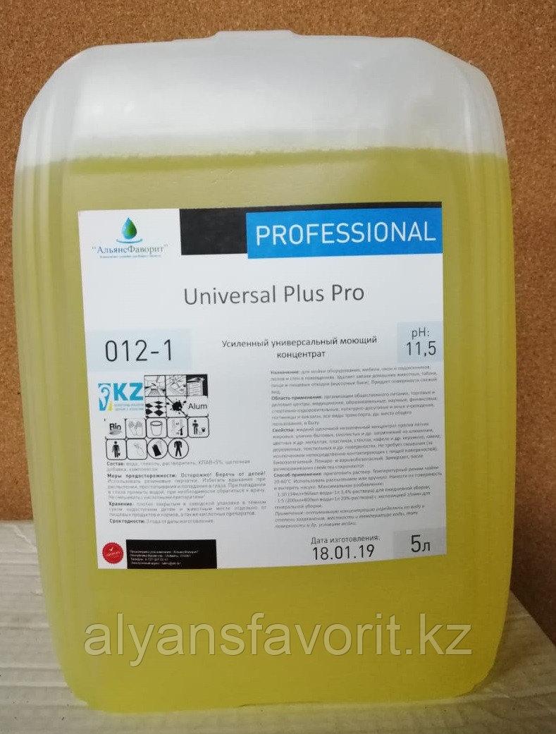 Universal Plus Pro - универсальное моющее средство для твердых поверхностей. 5литров ПНД.РК