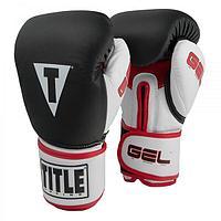 Боксерские перчатки TITLE ( натуральная кожа )