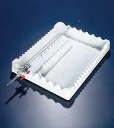 Лоток для пипеток глубокий, 280x215x38мм, полистирол (Azlon)