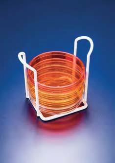Штатив для 6 чашек Петри d-90 мм, сталь, покрытая эпоксидной краской (Azlon)