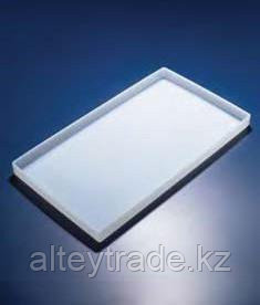 Лоток пластиковый, белый, 610х350х22 мм (PP) (Azlon)