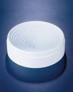 Подставка для круглодонных колб полипропиленовая, белая, d-145 мм (PP) (Azlon)