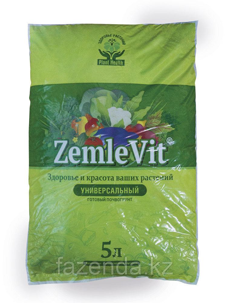 ZemleVit универсальный почвогрунт, 5л