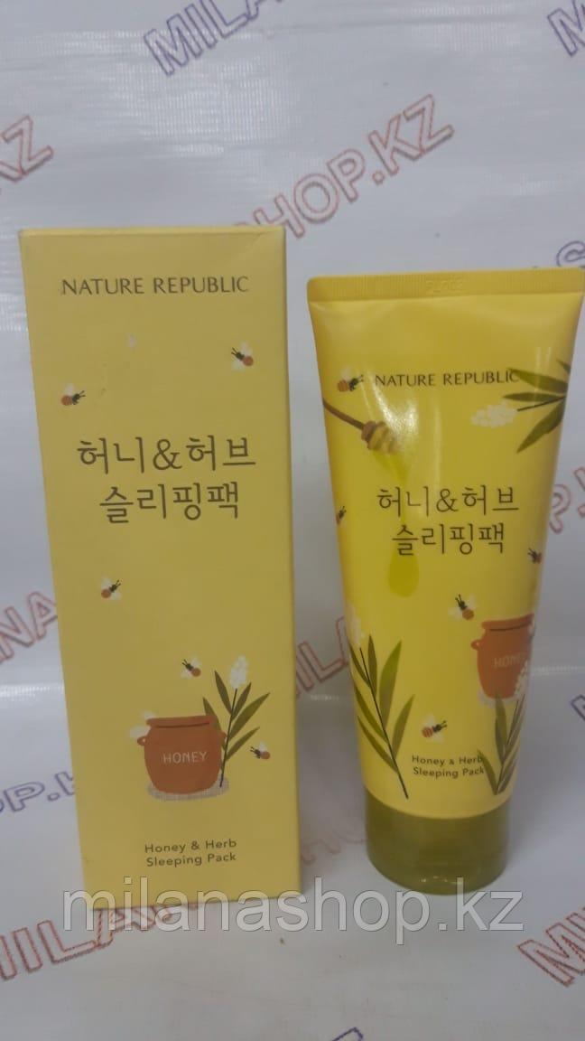 Nature Republic Honey & Herb Sleeping Pack - Медовая ночная маска