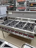 Газовые плиты. 8-конфорочная