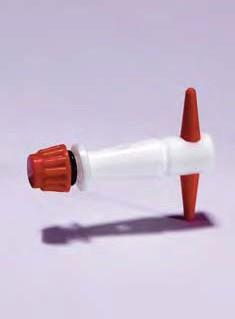 Ключ запасной фторопластовый к кранам соединительным трехходовым, D отверстия-4 мм (Pyrex)