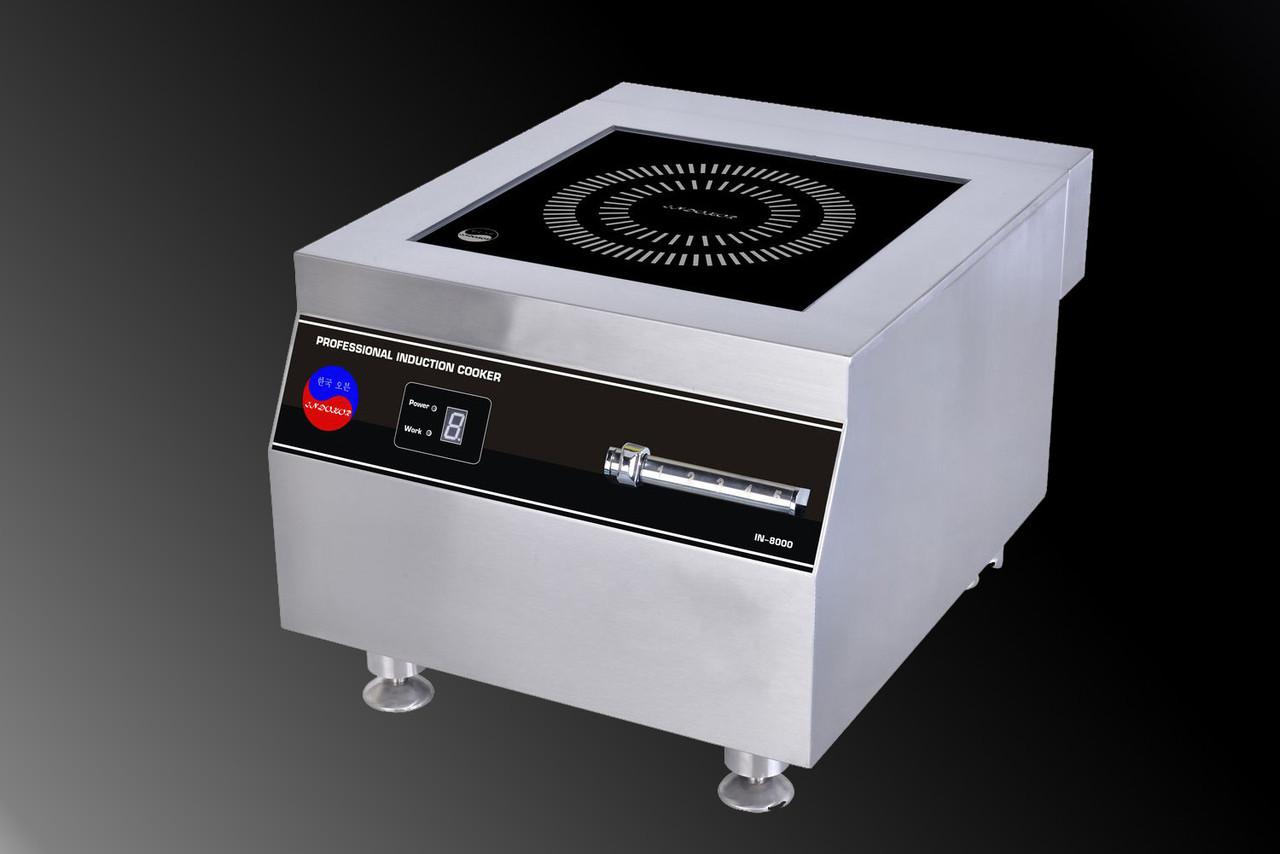 Индукционная плита 8000 W, 380 вольт