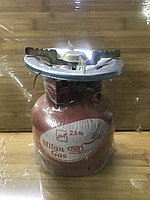 Газовый баллон с горелкой 2,5 литра