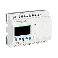 Zelio Logic компактное интеллектуальные реле 20 входов/выходов 240В AC, с дисплеем