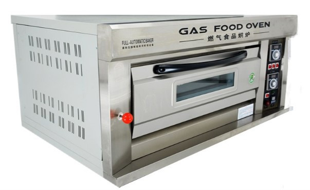 Пекарский шкаф промышленный 1-секционный газовый