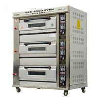 Шкаф пекарский промышленный 3-секционный газовый, фото 1