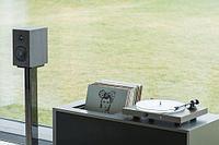 Виниловый проигрыватель со встроенным усилителем Pro-Ject Juke Box S2 орех, фото 1