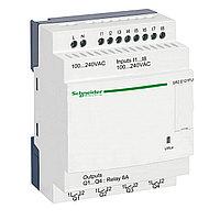Zelio Logic компактное интеллектуальные реле 12 входов/выходов 240В AC, без дисплея
