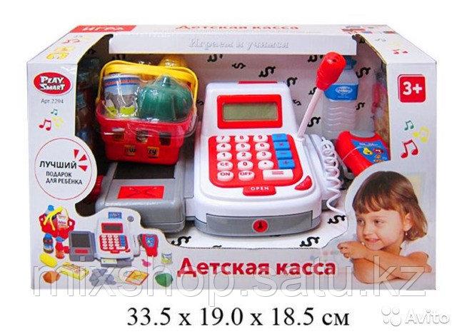 Набор для игры Play Smart Мой магазин (Кассовый аппарат)со сканером и микрофоном