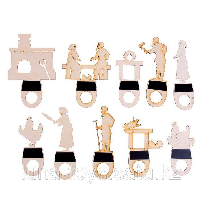 "Театр теневой ""Курочка Ряба"" цветной с ширмой, 470х360х45мм, 162975-PDP"