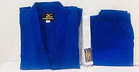 Кимоно для дзюдо Mizuno цвет белый  ,синий