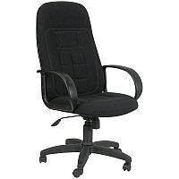 Кресло руководителя Chairman 727 PL, ткань черная, механизм качания, фото 1