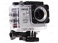 Экшен камера DEXP S-50 серебристый