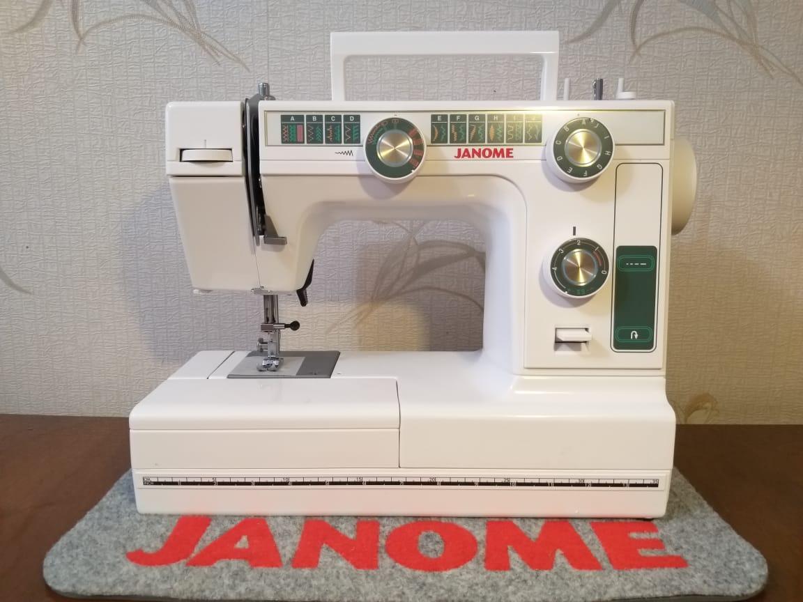 Janome 394 , LE 22 Швейная машинка