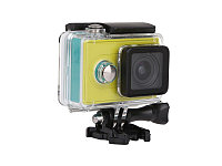 Экшен камера XiaomiYi Basic черный +аквабокс