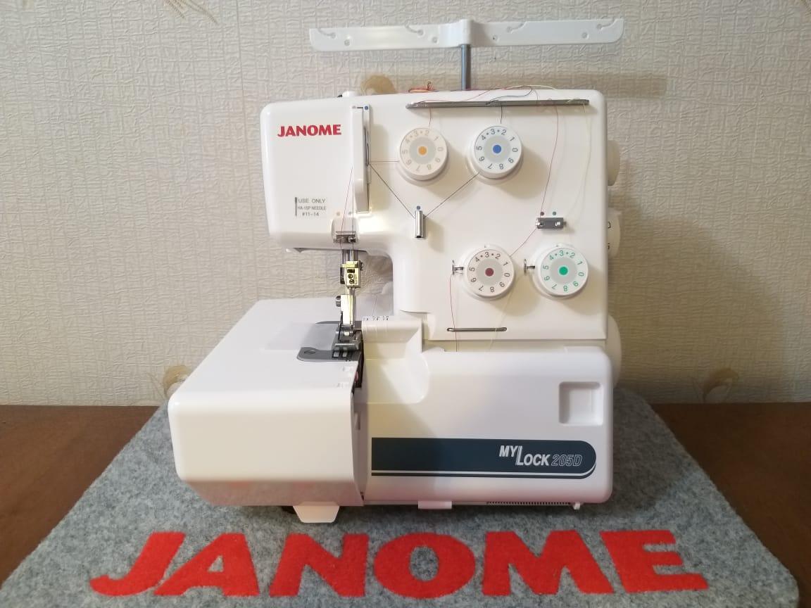Оверлок Janome MyLock 205D (ML 205D)