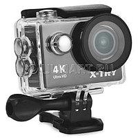 Экшен камера 4-K X-Tray XTC160, черная, с подводным боксом