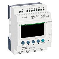 Zelio Logic компактное интеллектуальные реле 12 входов/выходов 12 В DC, с дисплеем