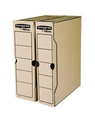 "Переносной архивный короб Bankers Box ""Basic"" 80x260x325, гофрокартон"