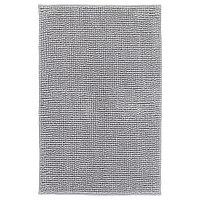 Коврик для ванной ТОФТБУ серо-белый меланж ИКЕА, IKEA