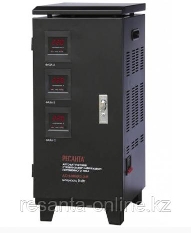 Стабилизатор напряжения Ресанта АСН 9000/3 ЭМ