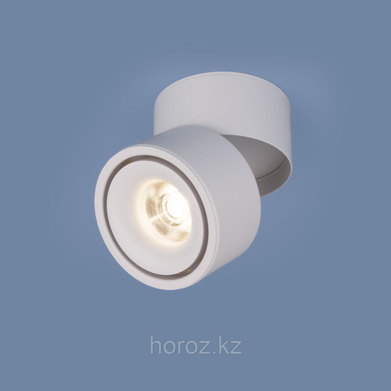 Светильник накладной поворотный белый