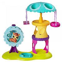 """Hasbro Littlest Pet Shop Игровой набор """"Парк развлечений"""""""