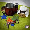 Набор с походной кружкой\мультитулом и карамелькой