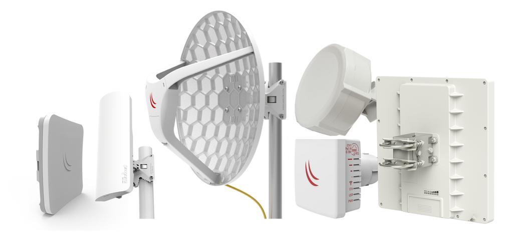 Выбор радиомоста 2.4GHz 802.11b/g/n с направленной антенной.