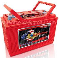 Тяговый аккумулятор U. S. Battery US 31 DCXC (12В, 130Ач), фото 1