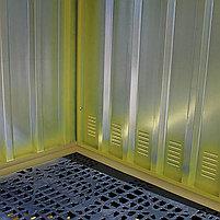Поддон для еврокубов с металлическим укрытием BB2HCS, фото 3