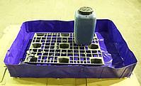 Складной поддон из ПВХ с кронштейнами, фото 2
