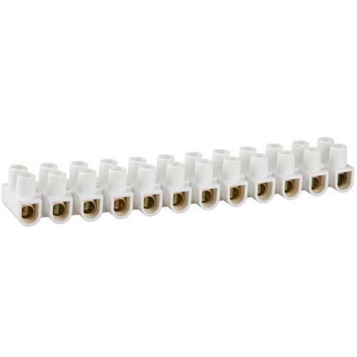 Колодки зажимные винтовые (КЗВ) , макс. ток 60А, сечение подкл. проводов 25мм2