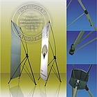 Х баннер - Паук, 2х1.2м, X-banner - мобильный выставочный стенд, фото 5