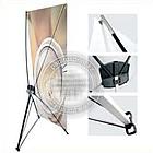 Х баннер - Паук, 2х1.2м, X-banner - мобильный выставочный стенд, фото 10