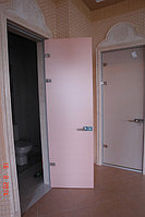 Двери цельностеклянные с фотопечатью