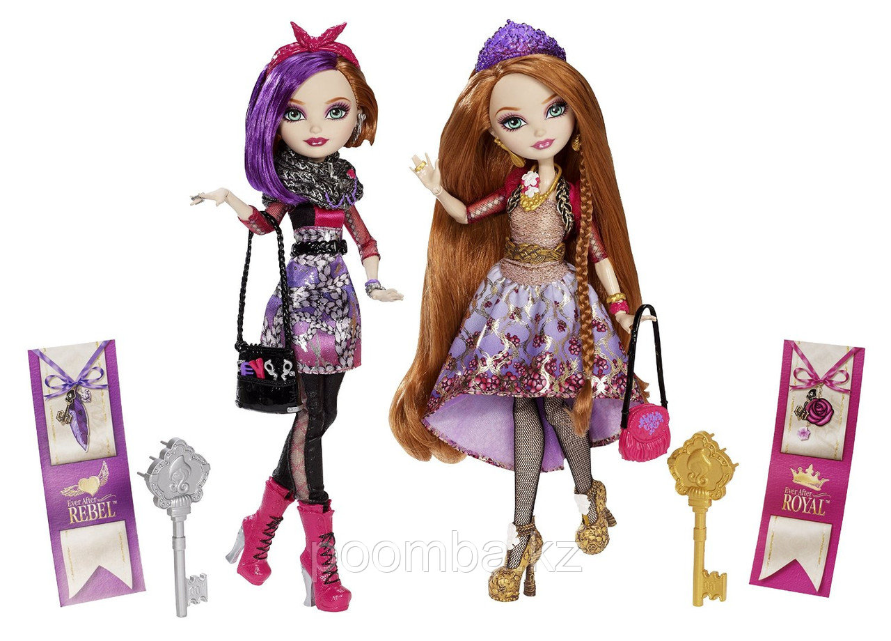 Набор из 2-х кукол Ever After High - Holly O'Hair и Poppy O'Hair