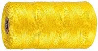 Шпагат STAYER многоцелевой полипропиленовый, желтый, 800текс, 110м