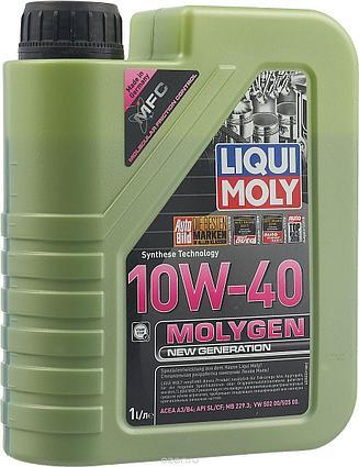 Моторное масло Molygen New Generation 10W-40,1L, LIQUI MOLY