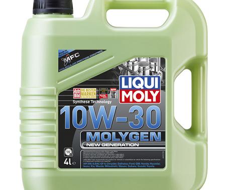 Моторное масло Molygen New Generation 10W-30, 4L, LIQUI MOLY