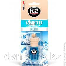 """Ароматизатор K2 """"VENTO"""" флакон с деревянной крышкой (горный фрэш)"""
