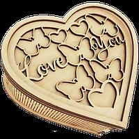 Подарочная шкатулка Сердце