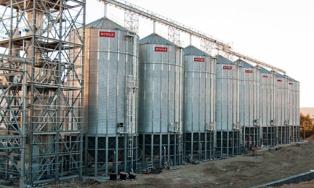 Бункер для хранения зерна
