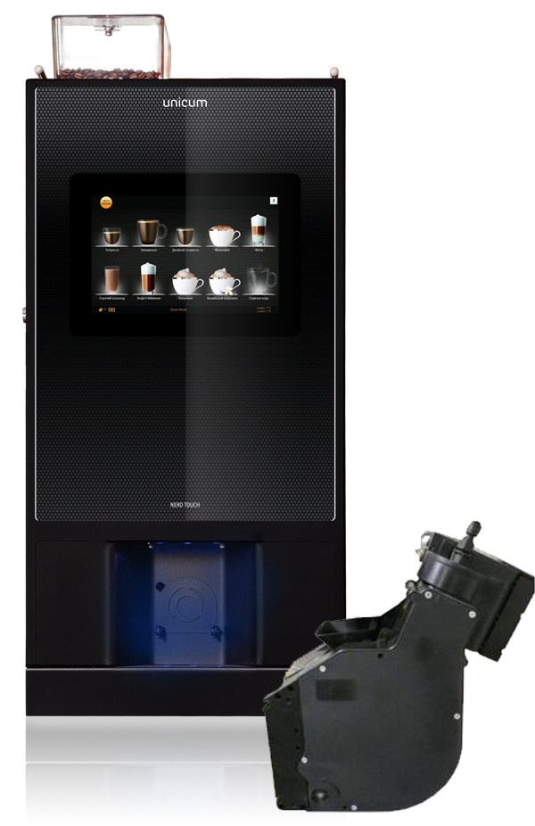 Кофейный аппарат Unicum Nero Touch VarioBrever, зерновой