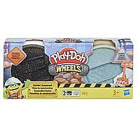 Набор массы для лепки Play-Doh Wheels - Тротуар и цемент